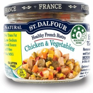 St Dalfour Healthy French Bistro Chicken and Vegetables 200g