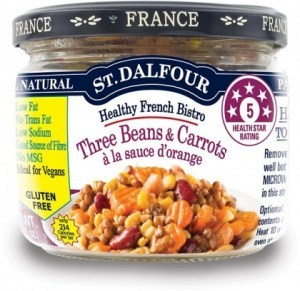 St Dalfour Healthy French Bistro Three Beans & Carrots 200g