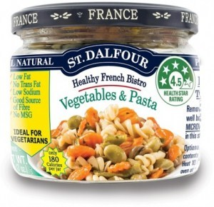 St Dalfour Healthy French Bistro Vegetables & Pasta 200g