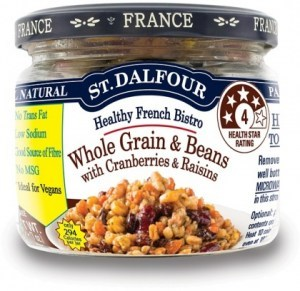 St Dalfour Healthy French Bistro Whole Grain & Beans with Cranberries & Raisins 200g