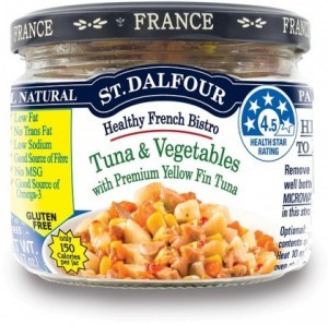 St Dalfour Healthy French Bistro Yellow Fin Tuna and Vegetables 200g