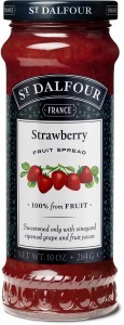 St Dalfour Strawberry Fruit Spread 284g
