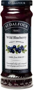 St Dalfour Wild Blueberry Fruit Spread 284g