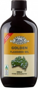 Stoney Creek Golden Flaxseed Oil 500ml