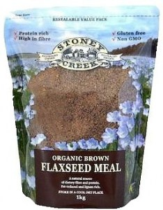 Stoney Creek Organic Brown Flaxseed meal 1Kg