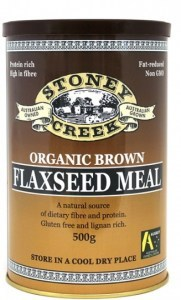 Stoney Creek Organic Brown Flaxseed Meal Can 500gm