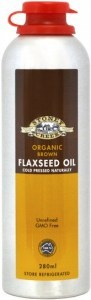 Stoney Creek Organic Brown  Flaxseed Oil 280ml