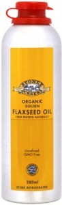 Stoney Creek Organic Golden  Flaxseed Oil 280ml