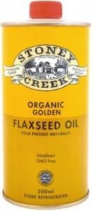 Stoney Creek Organic Golden Flaxseed Oil 500ml