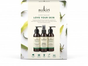 Sukin 3 Step Face Kit Love Your Skin Pack