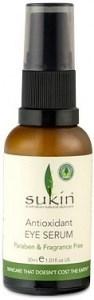 Sukin Antioxidant Eye Serum Glass Pump 30ml