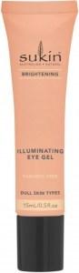 Sukin Brightening Illuminating Eye Gel 15ml Tube