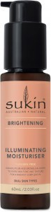 Sukin Brightening Illuminating Moisturiser 60ml Pump