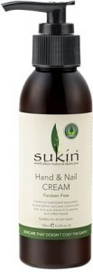 Sukin Hand & Nail Cream Pump 125ml
