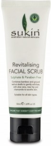 Sukin Revitalising Facial Scrub 50ml Travel Size
