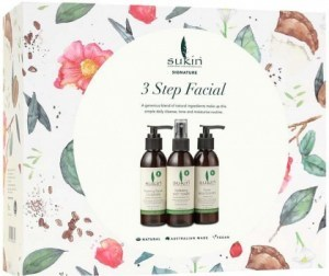 Sukin Three Step Facial Gift Pack