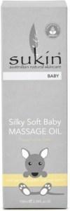 Sukin Silky Soft Baby Massage Oil 100ml JUL19