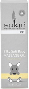 Sukin Silky Soft Baby Massage Oil 100ml