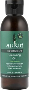Sukin Super Greens Detoxifying Cleansing Oil 125ml