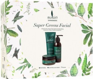 Sukin Super Greens Facial Christmas Pack