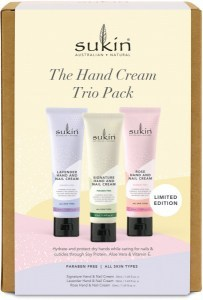 Sukin The Hand Cream Trio Pack