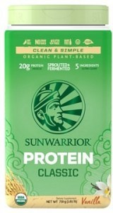 Sunwarrior Classic Organic Rice Protein Vanilla Powder 750g