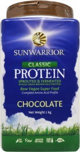 Sunwarrior Classic Rice Protein  Chocolate Powder 1Kg