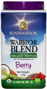 Sunwarrior Warrior Blend Organic Protein Berry Blend 1Kg