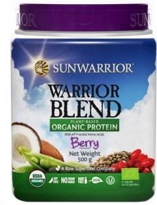 Sunwarrior Warrior Blend Organic Protein Berry Blend 500g MAR20