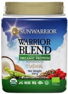 Sunwarrior Warrior Blend Organic Protein Natural Blend 500g