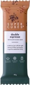 Super Cubes Double Espresso Wholefoods Bar  40g