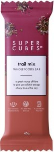 Super Cubes Trail Mix Wholefoods Bar  40g