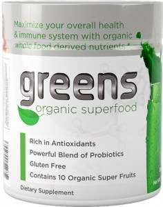 SystemLS Greens Organic Superfood 210g