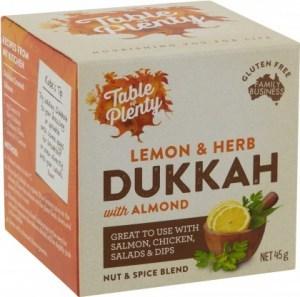 Table of Plenty Lemon & Herb Dukkah Spice Blend  45g