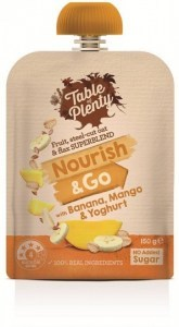Table of Plenty Nourish & Go Banana, Mango & Yoghurt 150g
