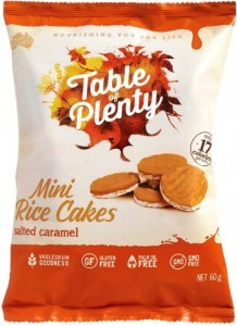 Table of Plenty Salted Caramel Mini Rice Cakes  60g