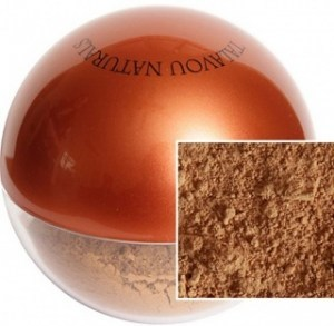 Talavou Naturals Tan Powder 8g with Kabuki Brush