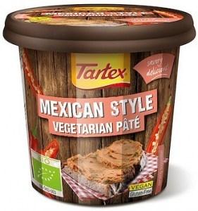 Tartex Pates Organic Pate Mexican  125g