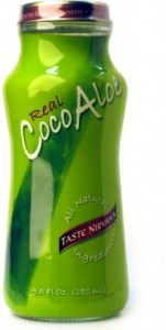 Real Coconut Water Taste Nirvana Aloe 12x280ml