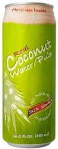 Taste Nirvana Real Coconut Water w/Pulp  12x480ml cans