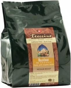 Teeccino Chicory Herbal Coffee Hazelnut Medium Roast No Caf 2.27kg