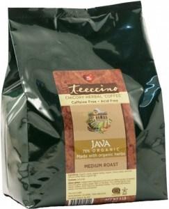 Teeccino Chicory Herbal Coffee Java Medium Roast No Caf 2.27kg