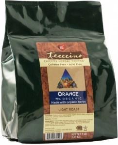 Teeccino Chicory Herbal Coffee Orange Light Roast No Caf 2.27kg