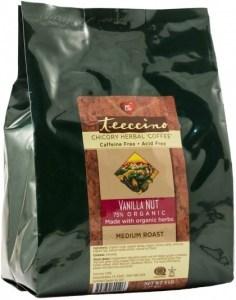 Teeccino Chicory Herbal Coffee Vanilla Nut Medium Roast No Caf 2.27kg
