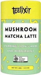 Teelixir Mushroom Matcha Latte 100g