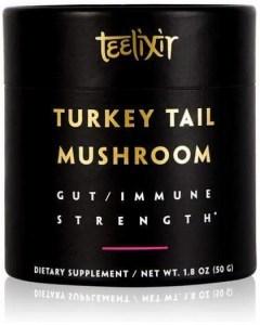 Teelixir Organic Turkey Tail Mushroom Powder Gut/Immune Strength  50g