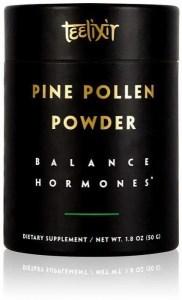 Teelixir Pine Pollen Powder Balance Hormones  50g