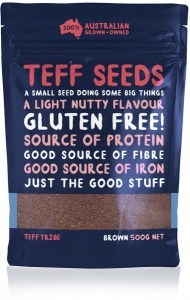 Teff Tribe Brown Teff Seed  500g