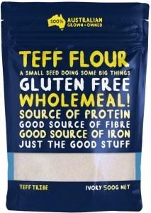 Teff Tribe Ivory Teff Flour   500g