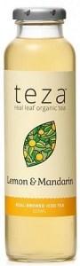 Teza Lemon & Mandarin Real Brewed Iced Tea 12x325ml